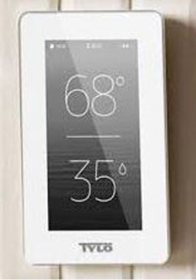 Tylö Elite 4,5 inch dokunmatik ekranlı kontrol paneli.