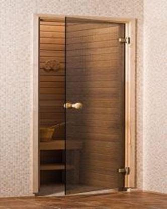 Sauna cam kapı